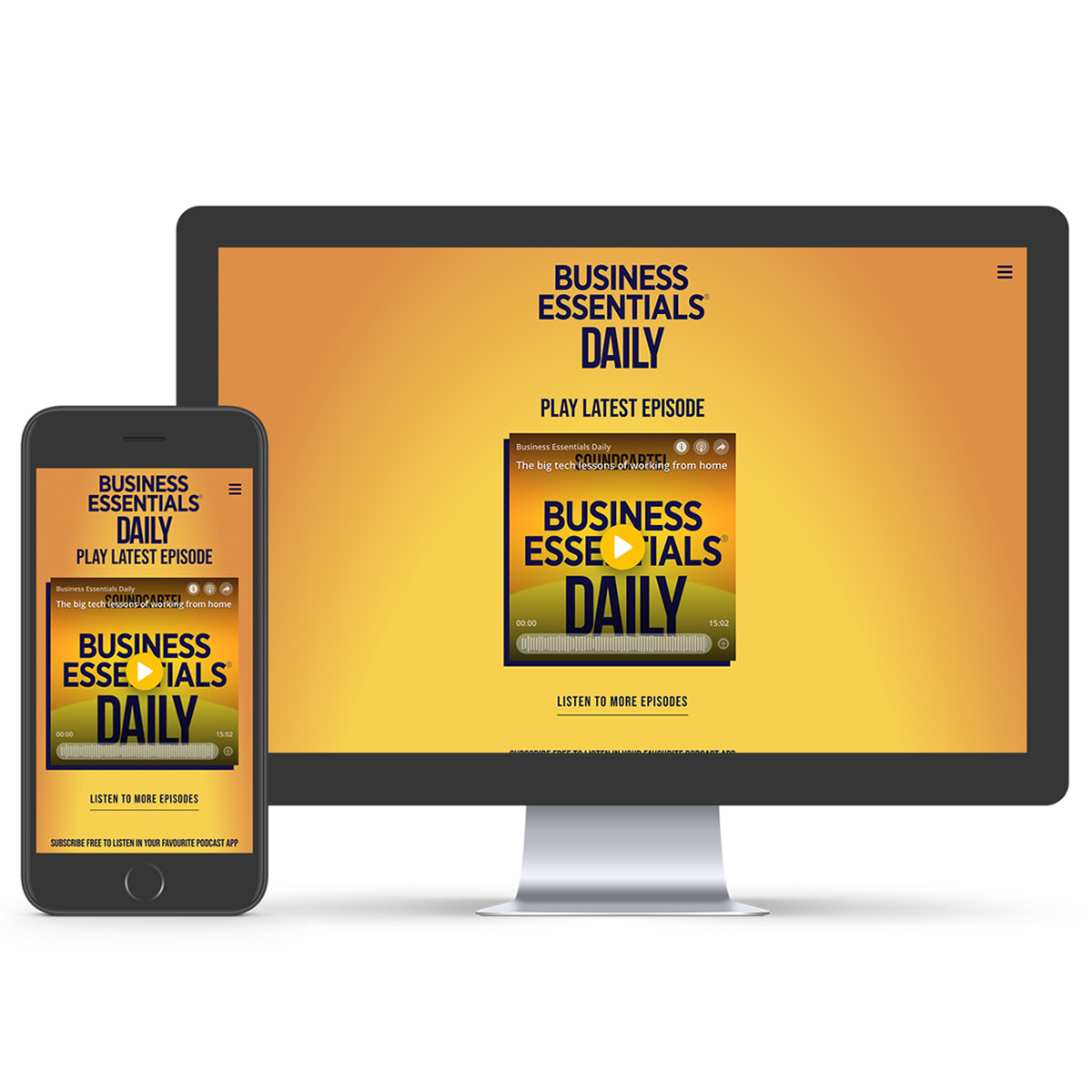 be daily podcast website development melbourne